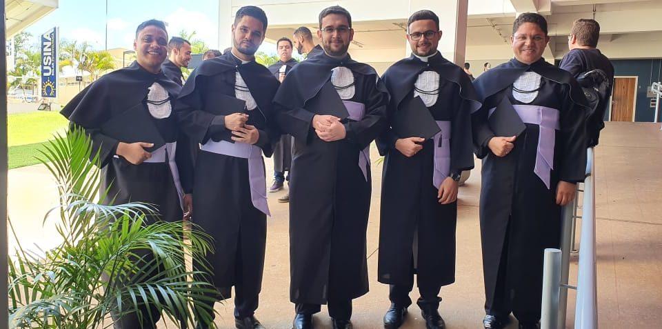 Diáconos Transitórios celebram formatura em Teologia na PUCCampinas