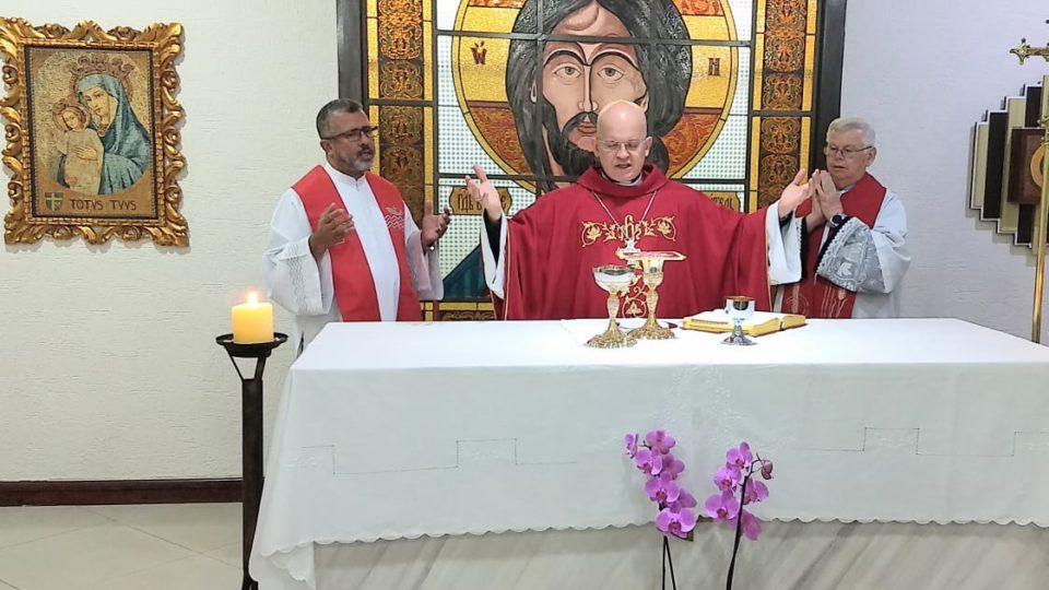 Dom Eduardo visita Seminário Maior São João Paulo II