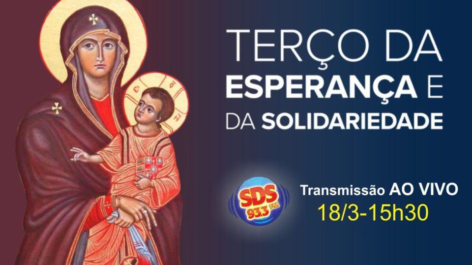 Rádio Diocesana convoca fiéis para o Terço da Esperança e da Solidariedade