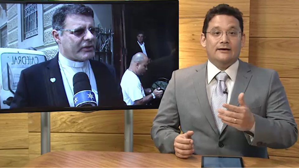 Dom Paulo Cezar preside na Rede Vida a Santa Missa de Páscoa
