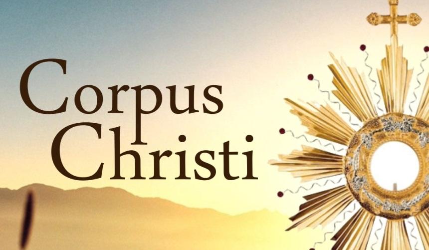 Tríduo de preparação para a Solenidade de Corpus Christi
