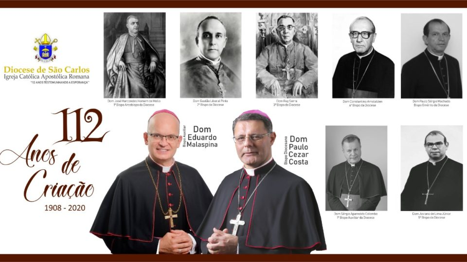 Diocese de São Carlos completa 112 anos de criação