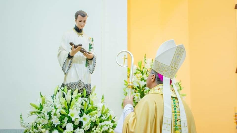 Bispo Diocesano preside Missa Solene de São Luiz Gonzaga