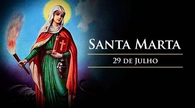 Momento Catequético: Memória de Santa Marta