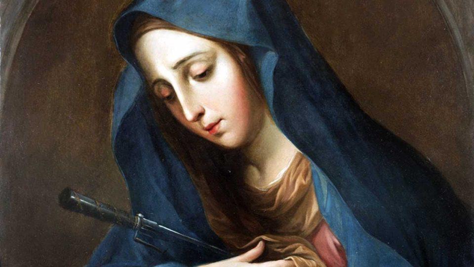Momento Catequético: Nossa Senhora das Dores . Memória