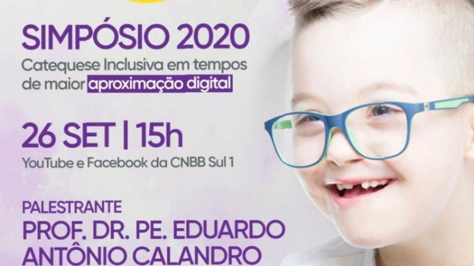 Catequese Inclusiva realiza 3º Simpósio online