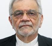 Dom Paulo Cezar recebe saudações do Diácono Miguel Elias