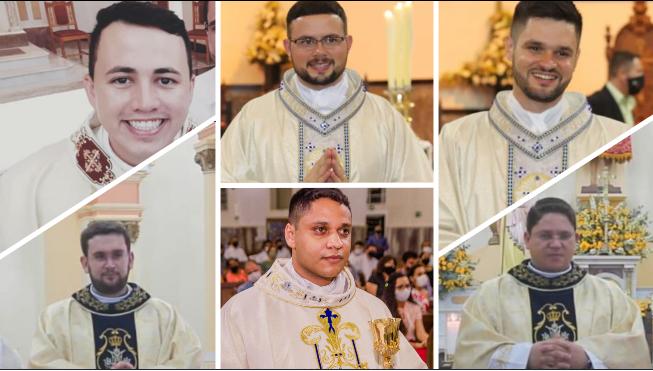 Novos padres celebram a Missa Diária da Diocese