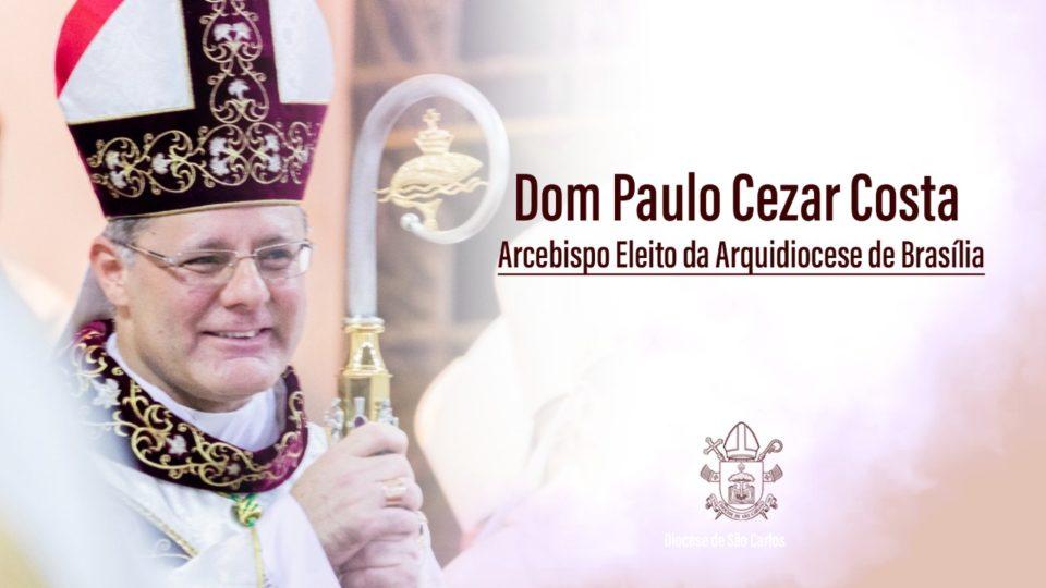 Dom Paulo Cezar recebe diversas congratulações por sua nomeação como Arcebispo