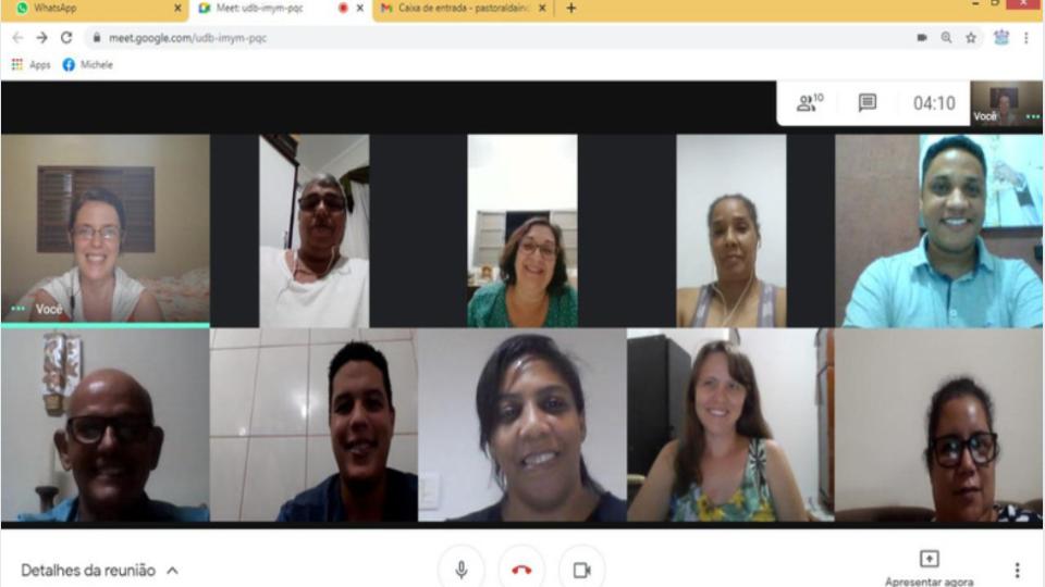 COMISSÃO BÍBLICO CATEQUÉTICA DIALOGA SOBRE AS PERSPECTIVAS PARA 2021