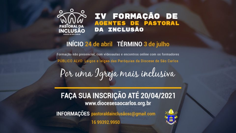 Formação para Agentes da Pastoral da Inclusão