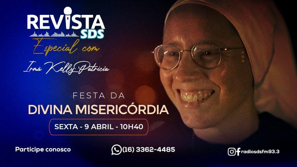 Sexta-feira: Irmã Kelly Patrícia estará ao vivo na Rádio SDS