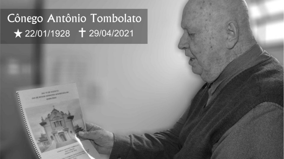 Morre aos 93 anos Padre Antônio Tombolato