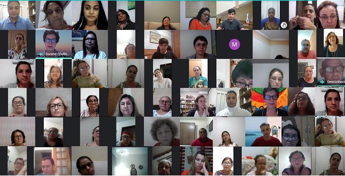 Catequistas da Diocese participam de formação sobre: Comunicação e Catequese em Tempo de Pandemia