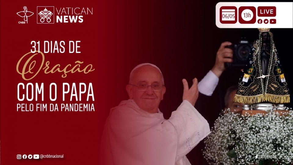 SANTUÁRIO DE APARECIDA (SP) SE PREPARA PARA PARTICIPAR DA MARATONA DE 31 DIAS DE ORAÇÃO COM O PAPA PELO FIM DA PANDEMIA
