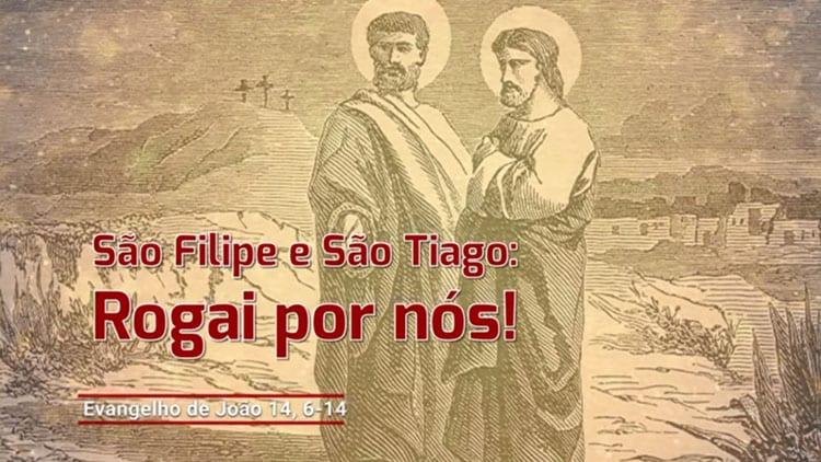 IGREJA CELEBRA NESTE 3 DE MAIO SÃO FILIPE E SÃO TIAGO MENOR