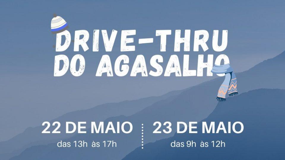 Grupo de jovens Brasa realiza drive-thru para arrecadar agasalhos e cobertores