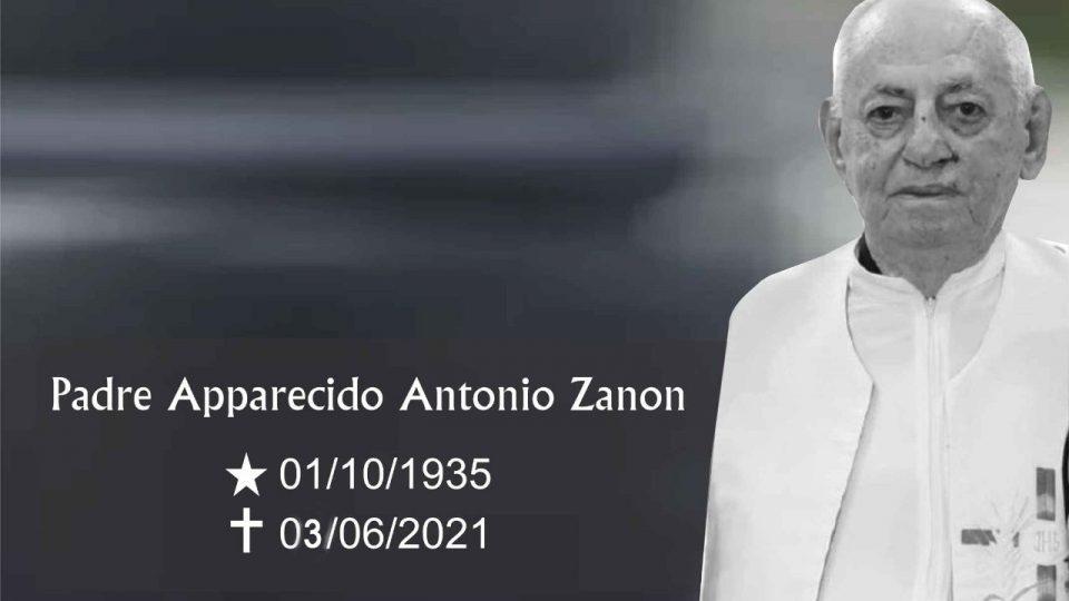 Padre Apparecido Antonio Zanon morre aos 85 anos