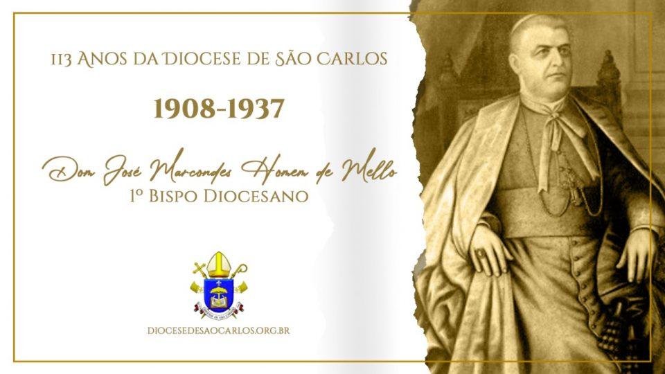 Primeiro Bispo de São Carlos: Dom José Marcondes Homem de Mello
