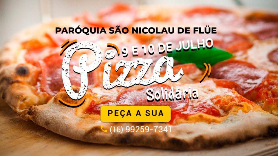 Que tal começar o final de semana comendo uma deliciosa pizza?