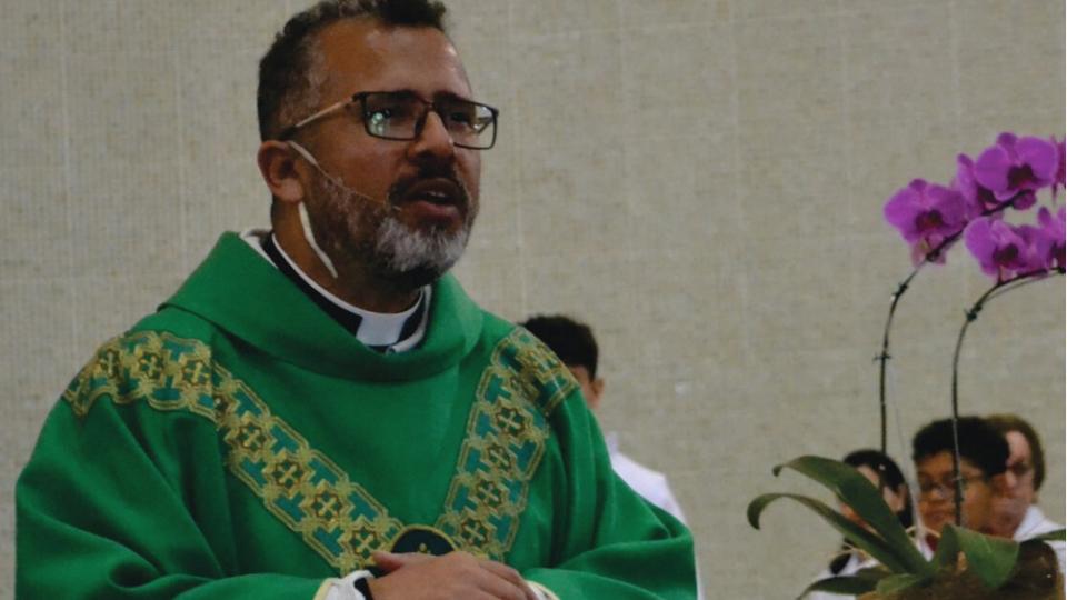 Missa marca o 24º aniversário de Ordenação Presbiteral Padre Marcelo Souza